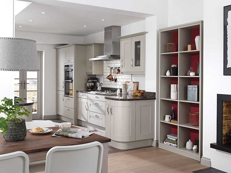 PWS custom kitchen installation